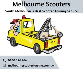 Scooter Towing Service in South Melbourne