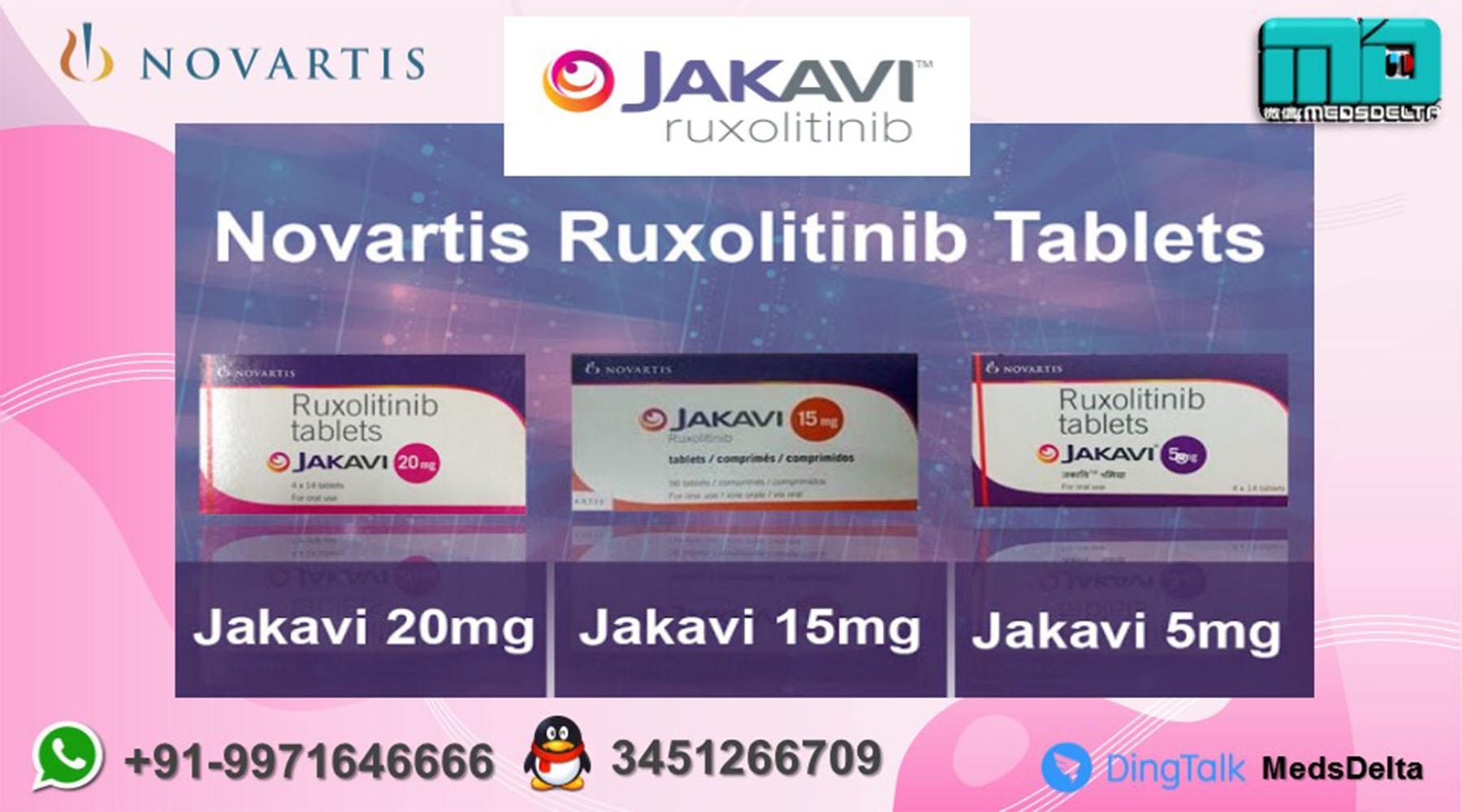 Jakavi Tablet Price Online Ruxolitinib Wholesale Supplier