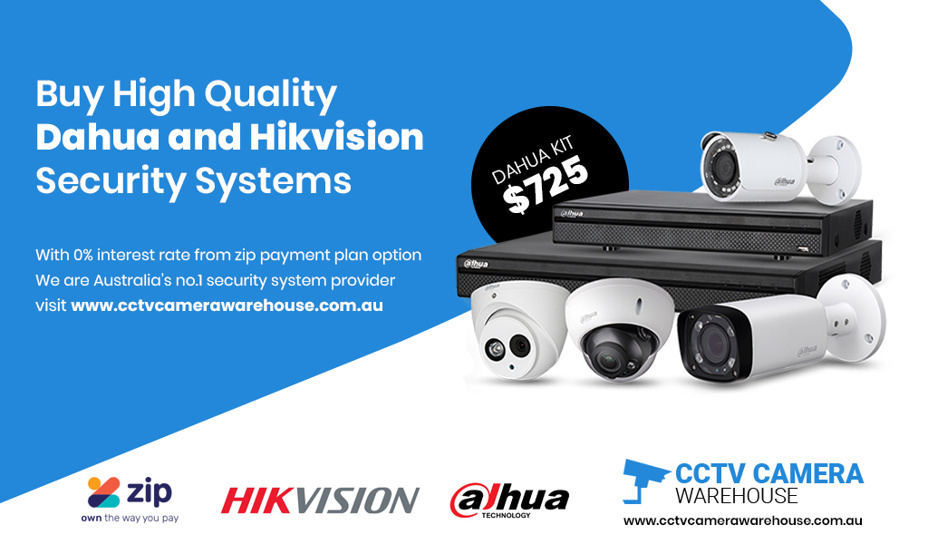 Dahua CCTV Camera System with Finance Angle Vale, SA