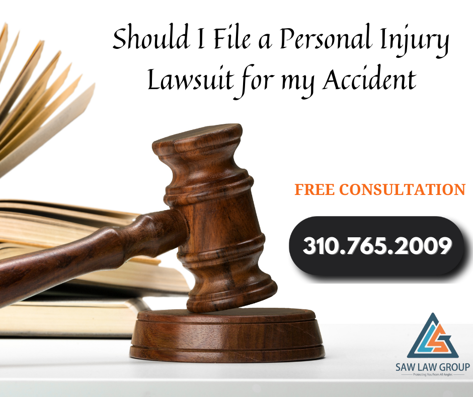 Should I File a Personal Injury Lawsuit for my Accident in Los Angeles