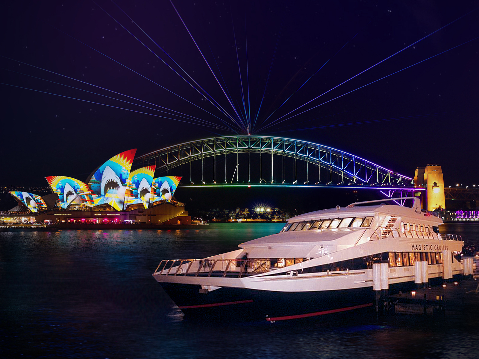 Get the best views this Vivid 2021 aboard a luxury cruise