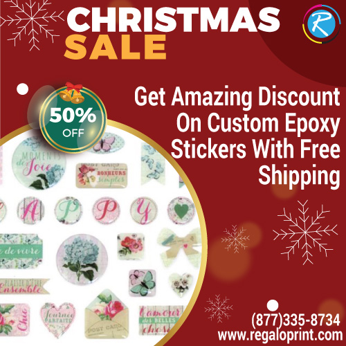 50% Flat Discount On Epoxy Stickers With Free Customizing Options