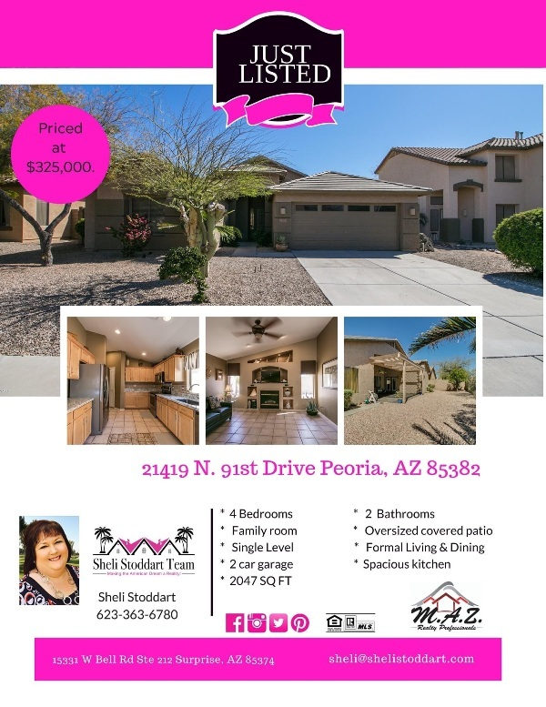 Surprise AZ Area home for sale