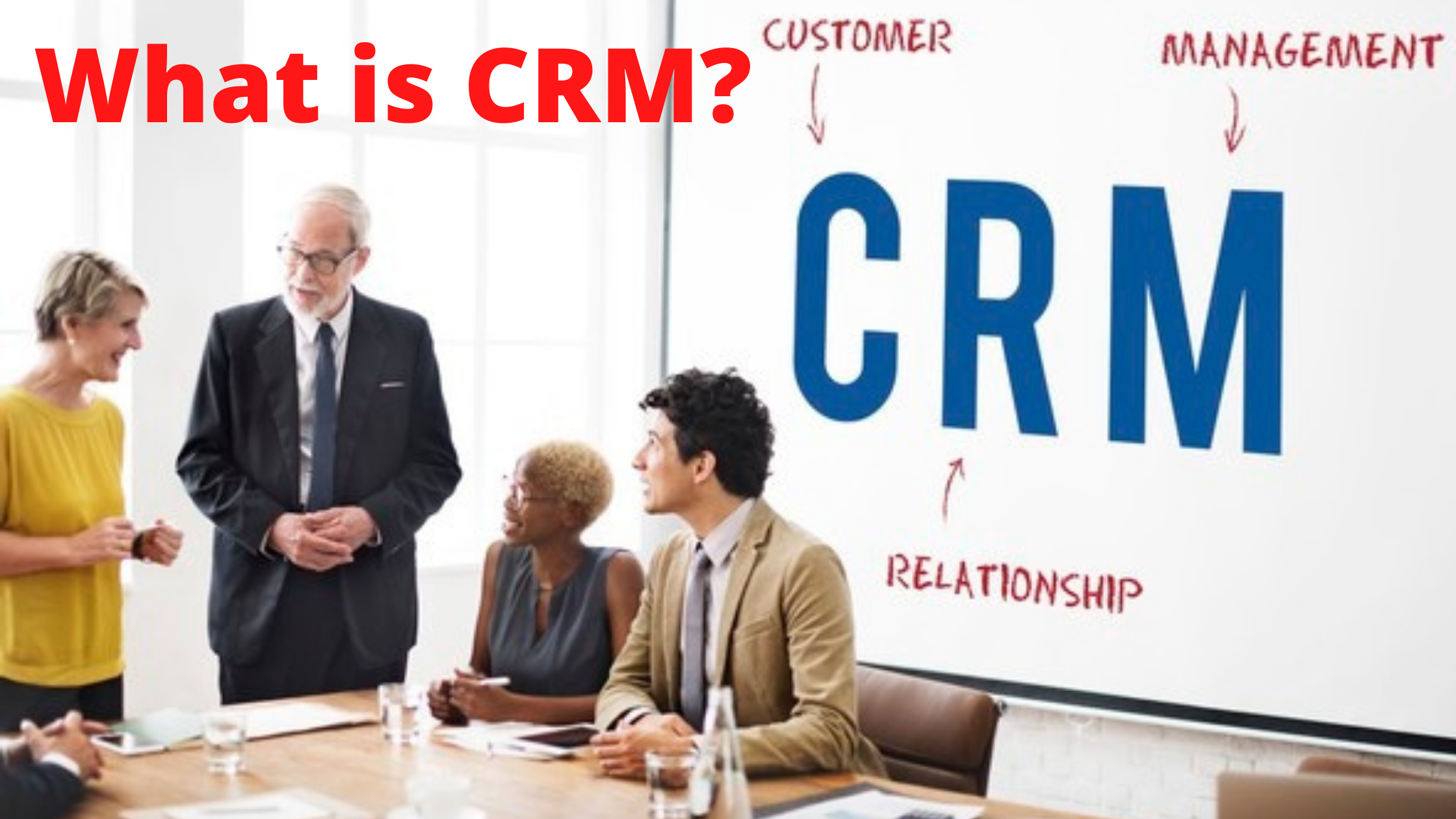 What is CRM - Customer Relationship Management