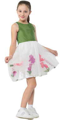Girls Hand Sewn Dresses OB494