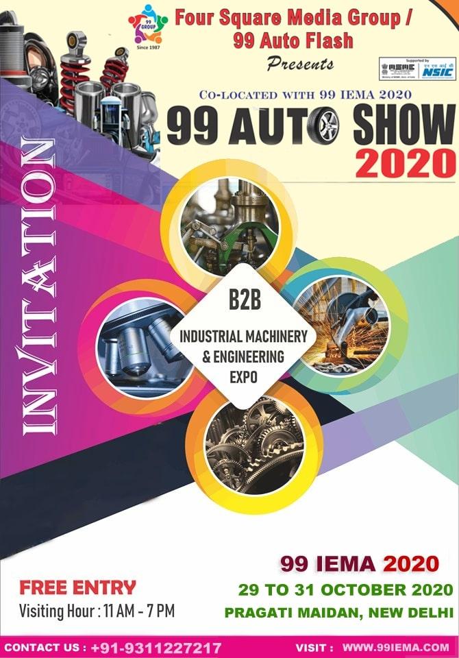 99 IEMA - Auto & Power Energy Exhibition in India 2020