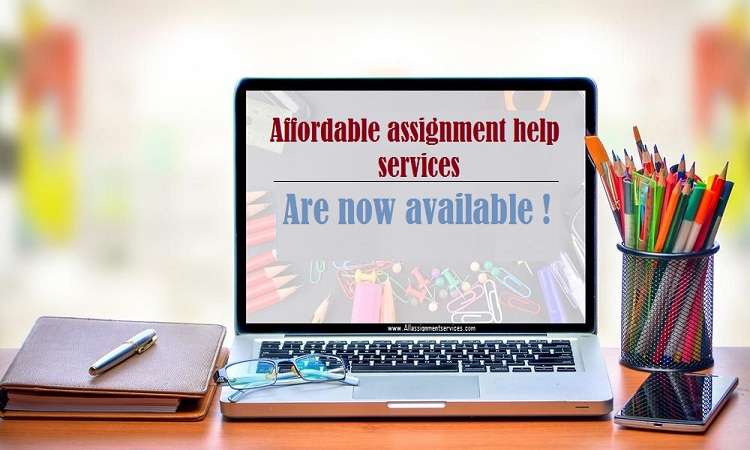 Affordable assignment help services are now available for you