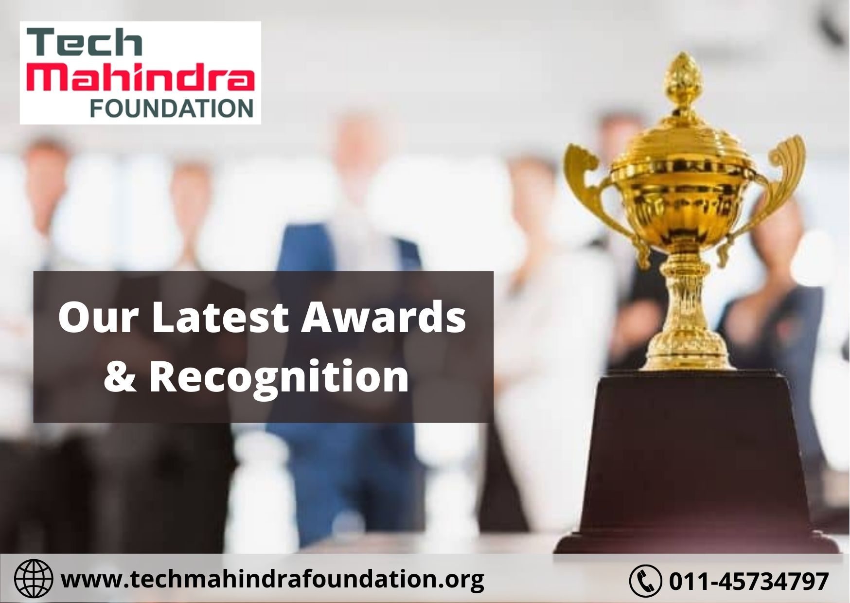 Our Latest Awards & Recognition | Tech Mahindra Foundation