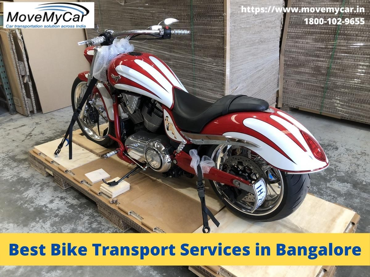 Looking For Bike Transportation Services At The Best Price In Bangalore?