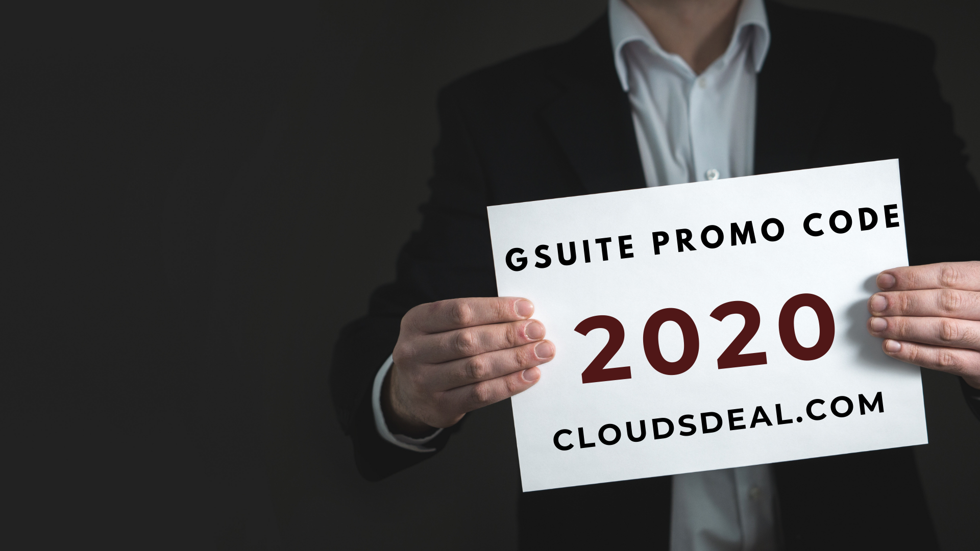G Suite Business Promo Code USA 2020
