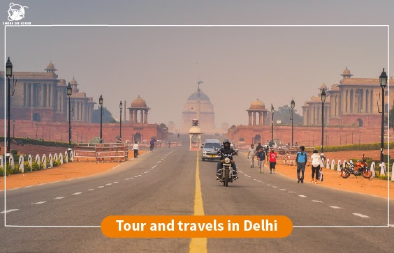 Tand travels in Delhi | Shoes On Loose