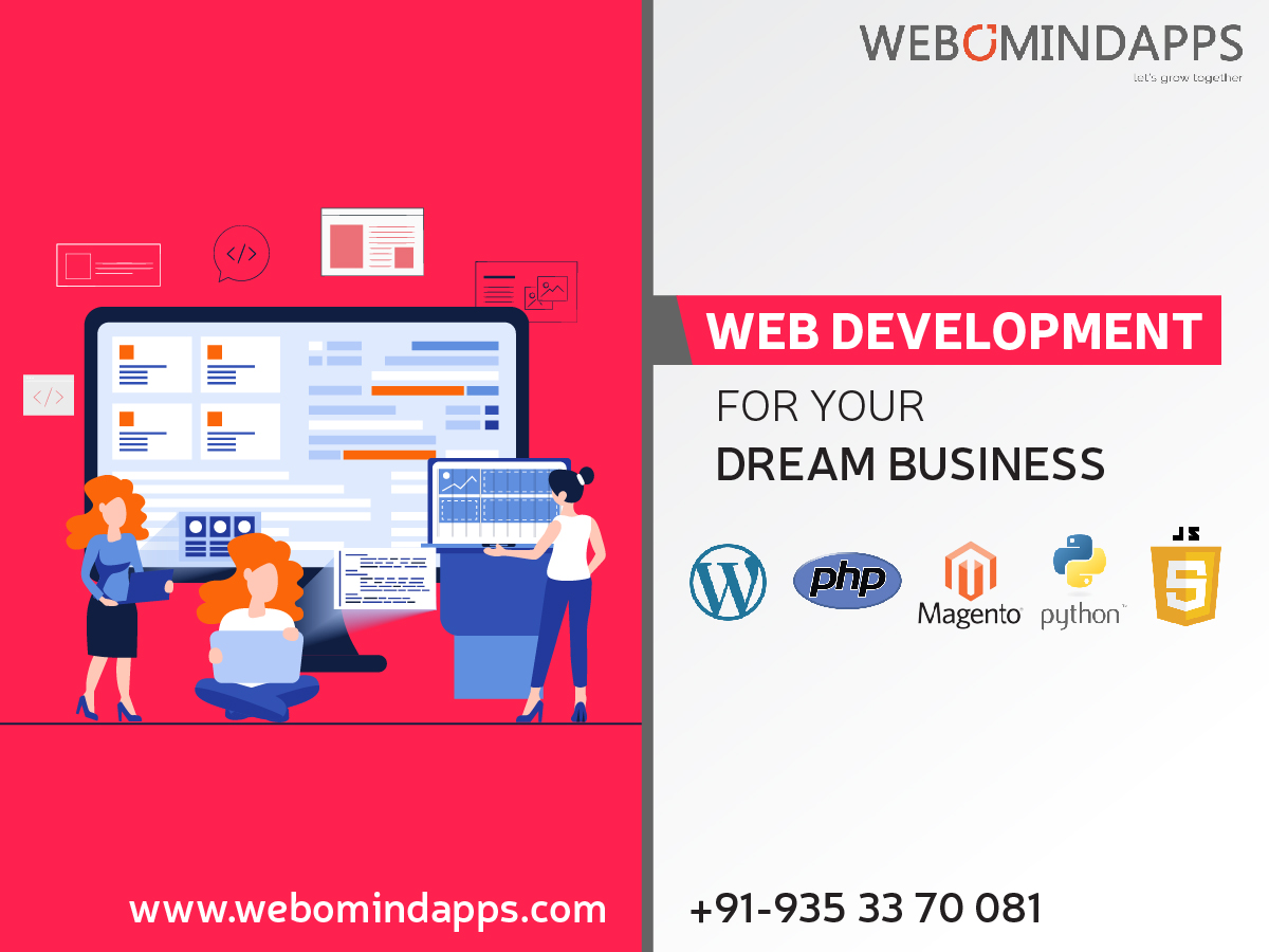 Web Development Company in Bangalore - Webomindapps