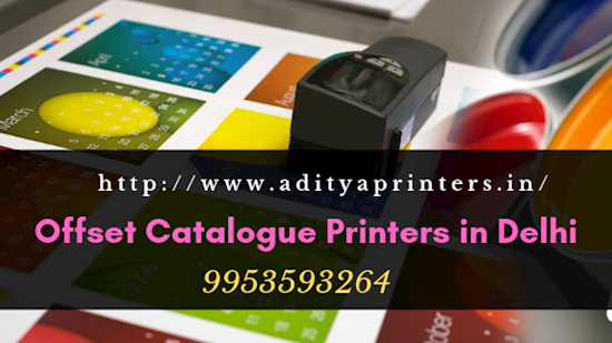 Offset Catalogue Printers in Delhi