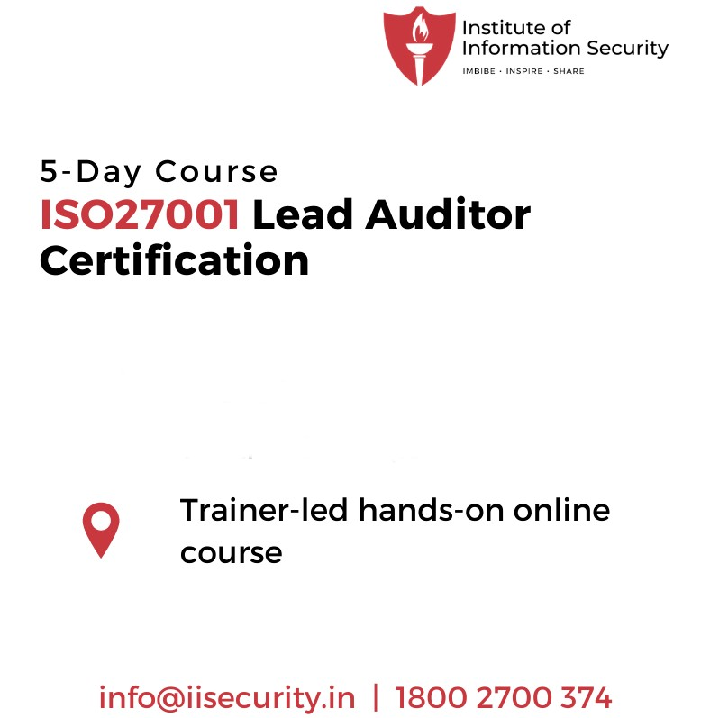 ISO 27001 Lead Auditor Certification Training - IIsecurity