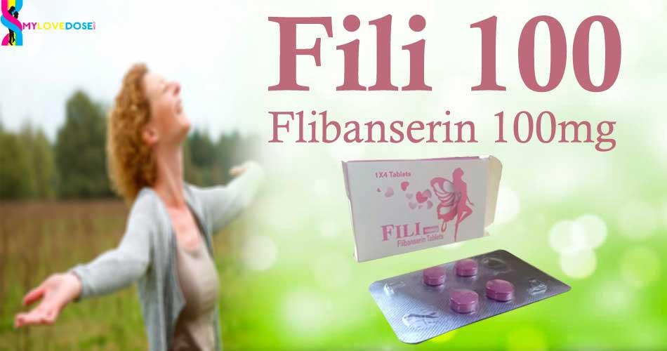 Buy Fili 100mg (Flibanserin) Tablets | Buy Women'd Enhance Performance Tablets
