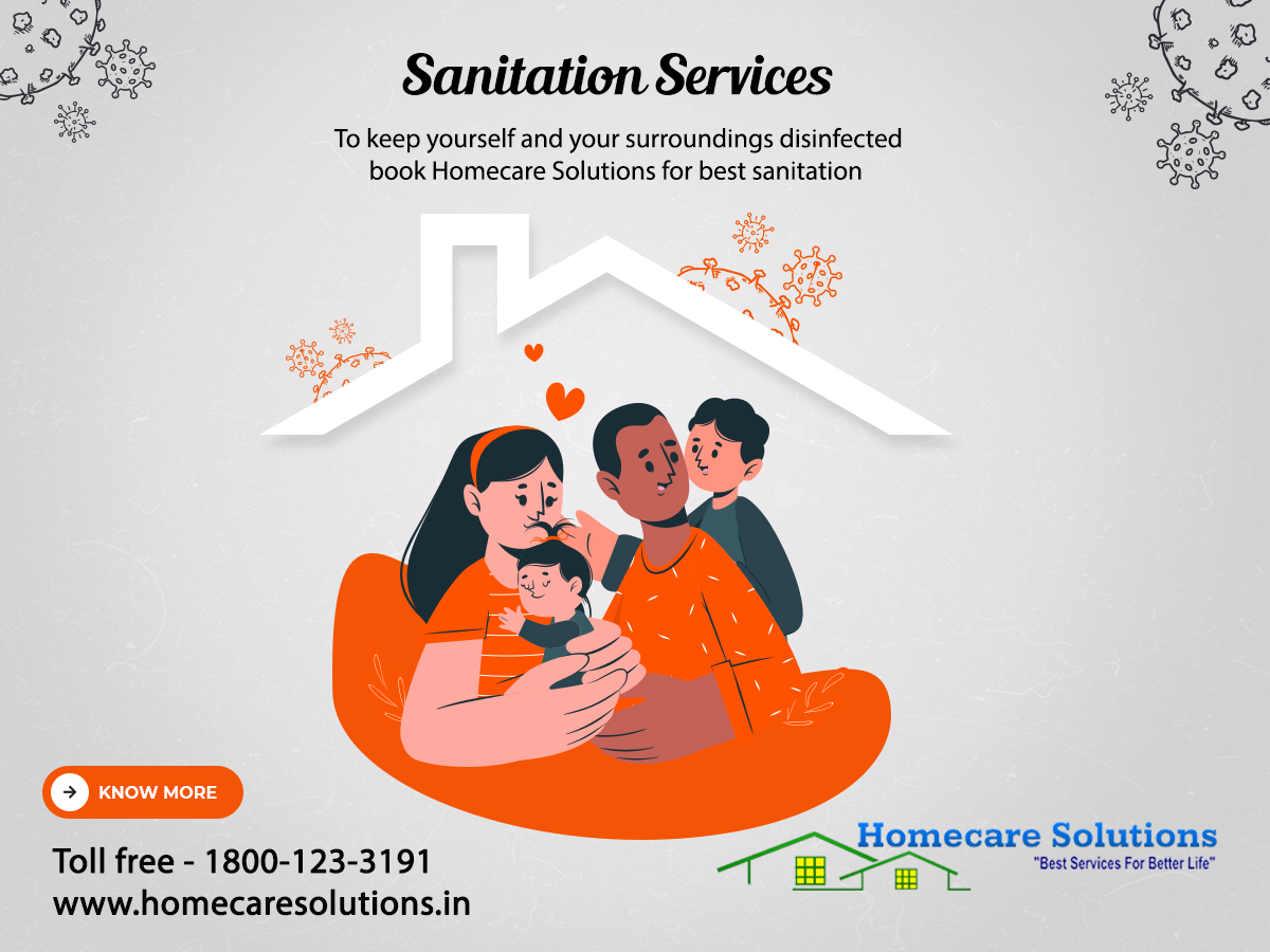 HomecareSolutions- Home, Office, Kitchen, Bathroom, Sofa, Deep Home Cleaning Services in Bangalore