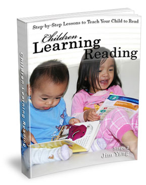 How to teach your even 2 years old child to read