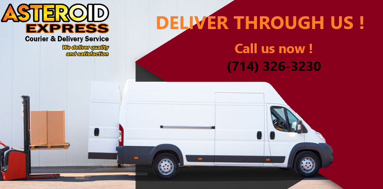 Courier Service In California | Same Day Delivery | Asteroid Xpress