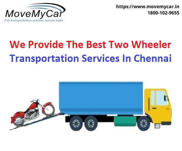 We provide the verified Two Wheeler Transportation Services Companies in Chennai