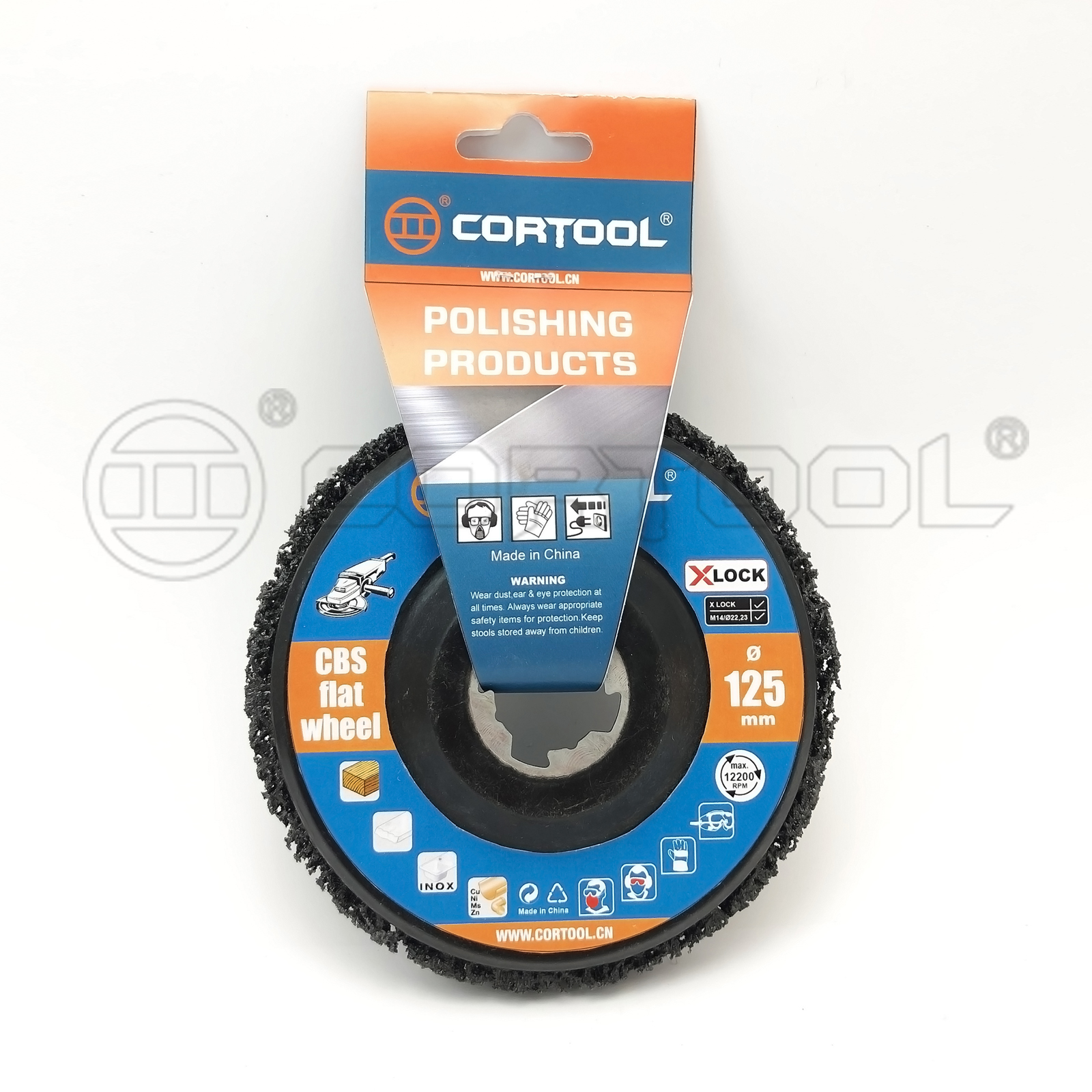 X-LOCK CBS Flat Wheel - Cortool Manufacturing Group