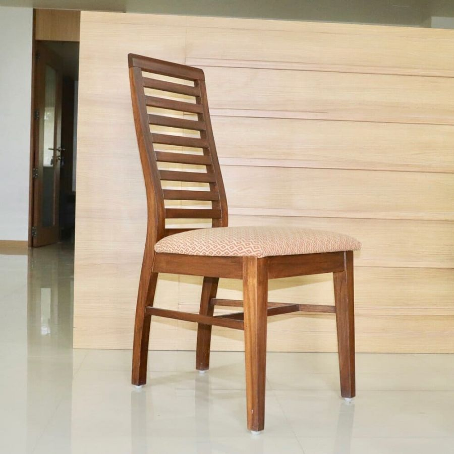 Wooden Dining Chair With Cushion