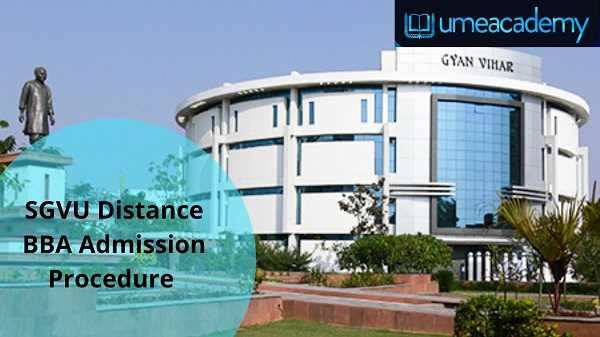SGVU Distance BBA Admission Procedure | Umeacademy