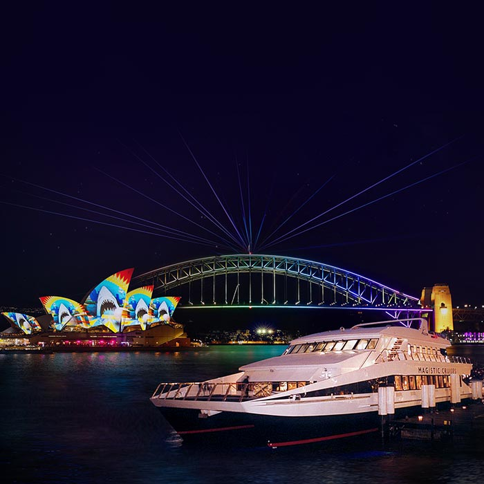 Spectacular Vivid Harbour Cruises in Sydney 2021
