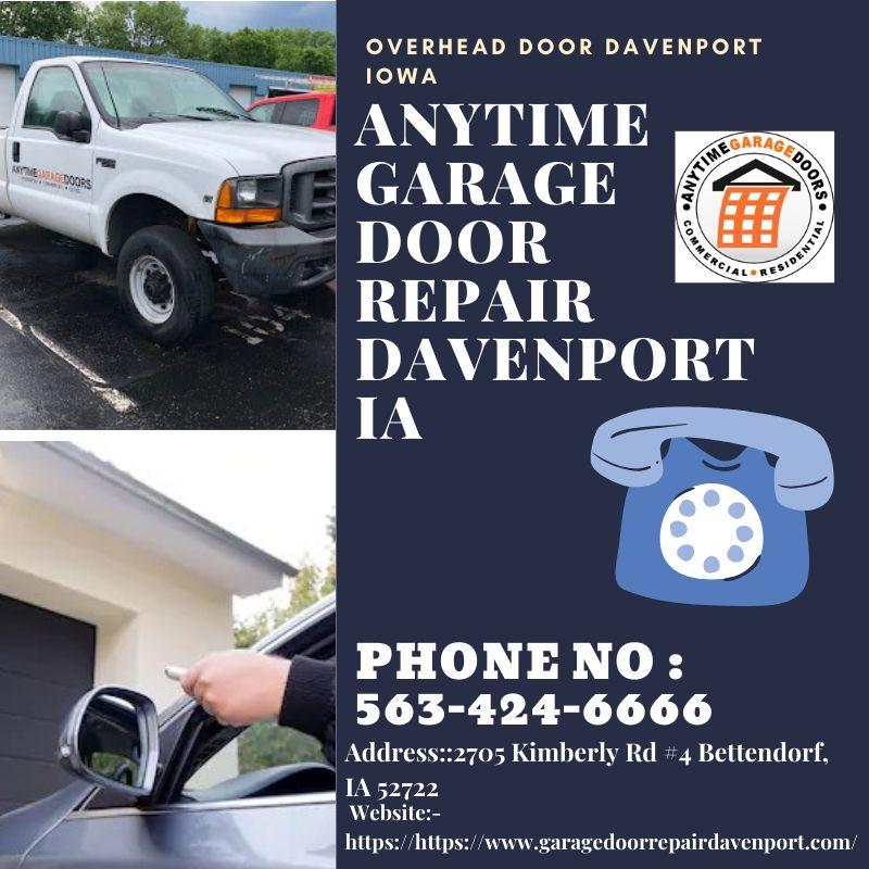 Best Overhead Door Repair in Davenport IA