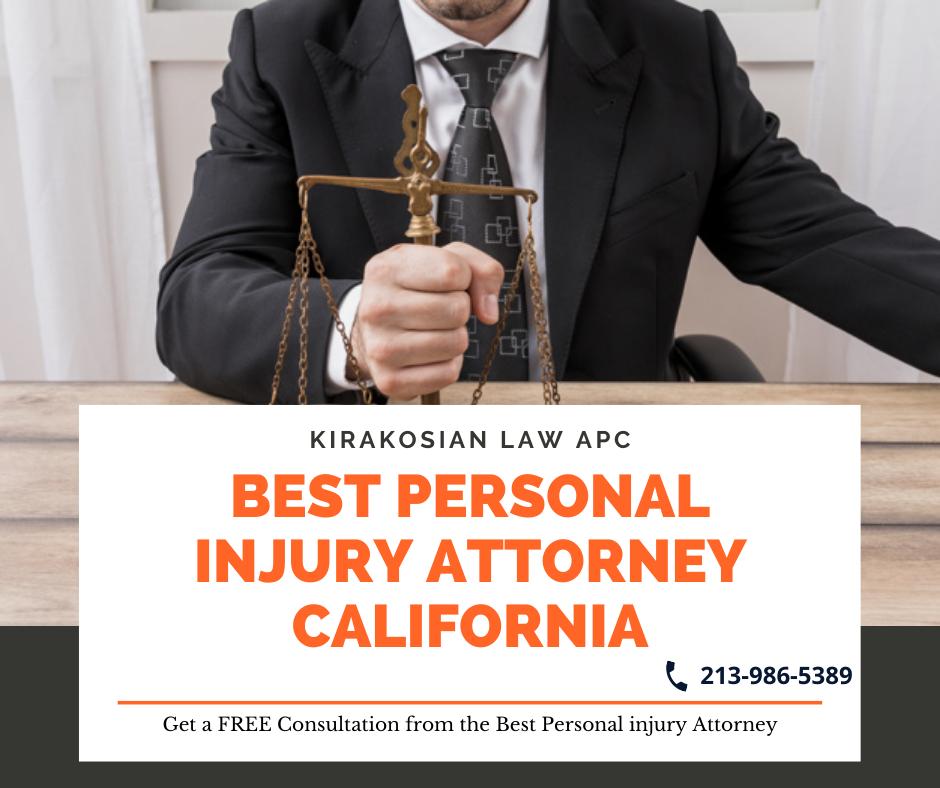 Kirakosian Law APC – Best personal injury attorney in California