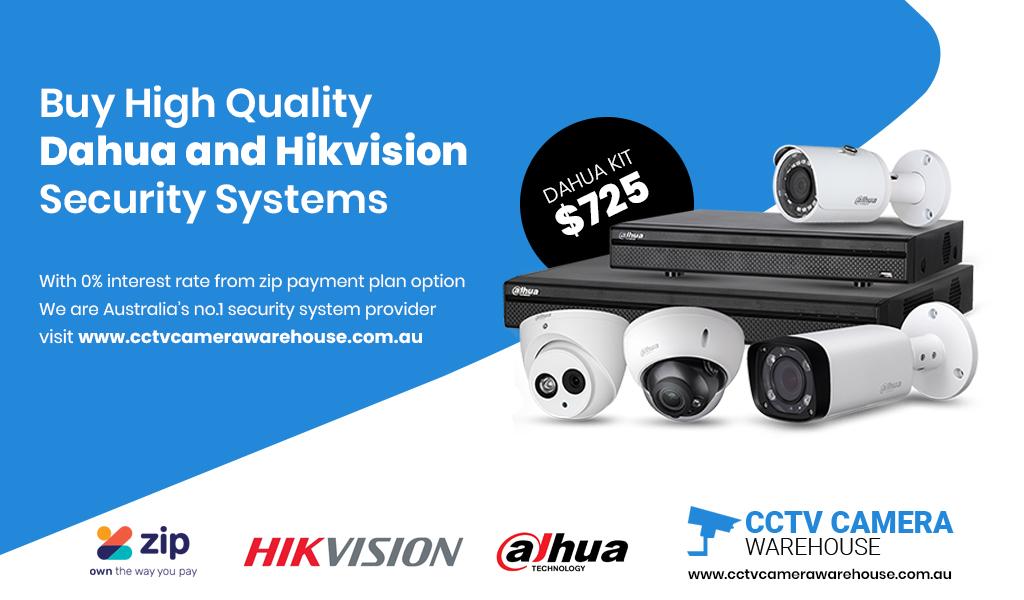 Hikvision CCTV Camera System with ZIP Money Sydney