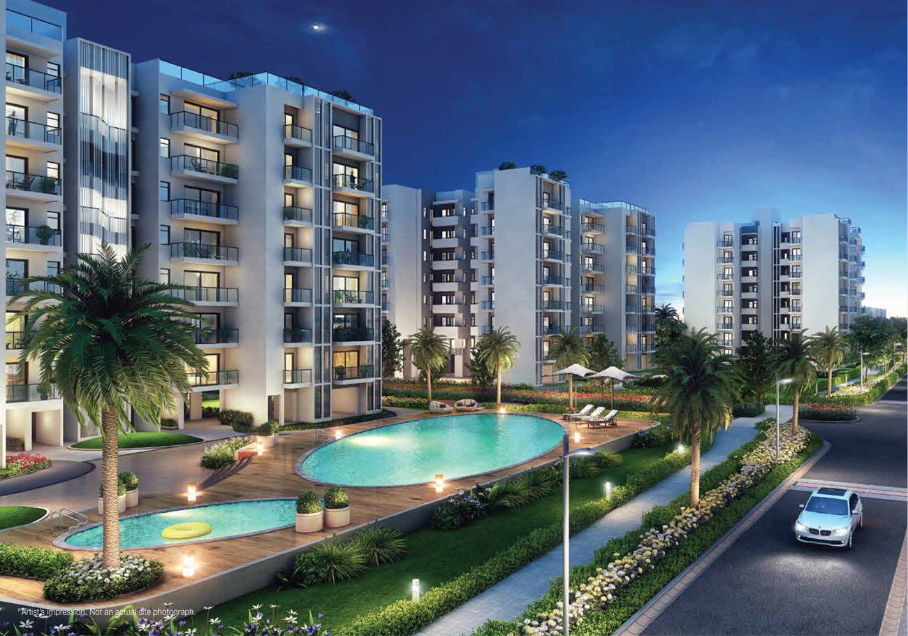 Book 2 and 3 BHK Residential Apartments in Noida - Godrej Properties