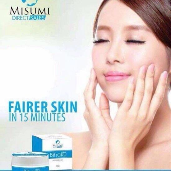 Skin whitening capsules & injections