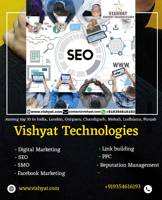 VISHYAT TECHNOLOGIES - SEO  SERVICES COMPANY IN INDIA