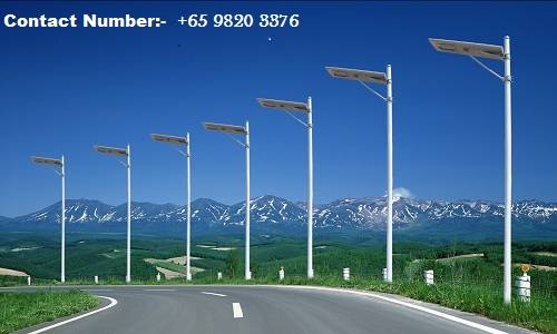 Solar Street Lights Manufacturers In Singapore -SM Solar LED Product