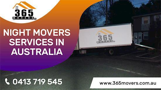 Night Movers in Brisbane, Melbourne, Adelaide, Ballarat, Geelong