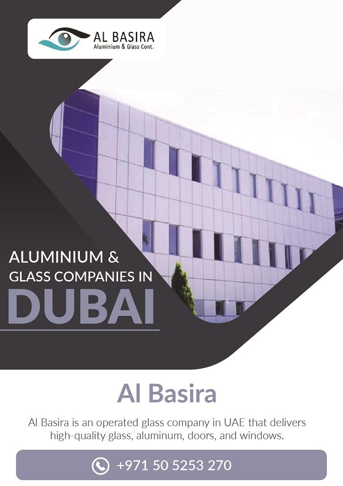 Aluminium and glass companies in Dubai | Al-Basira