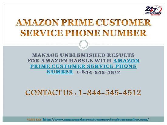 Have Amazon Prime Customer Service 1-844-545-4512 Phone Number