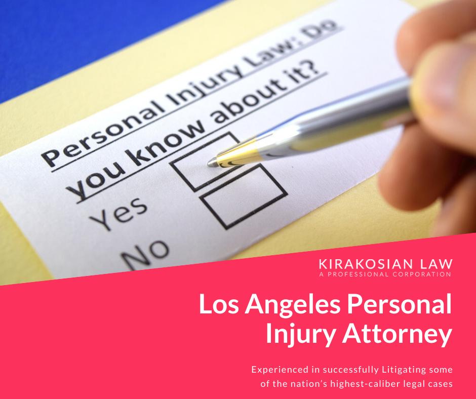 Los Angeles Personal Injury Attorney | Kirakosian Law APC