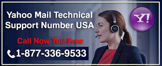 Yahoo Mail Technical Support Number USA @1-877-336-9533