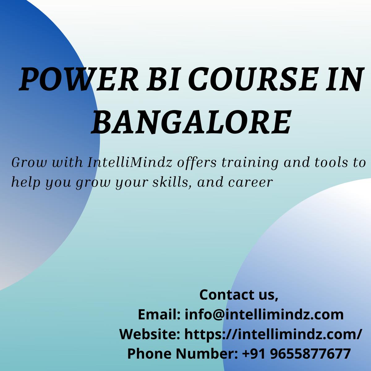 Power BI Course in Bangalore