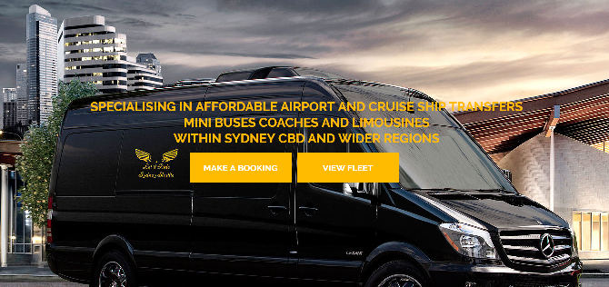 Sydney airport transfers and limo service - Let it ride Shuttle service