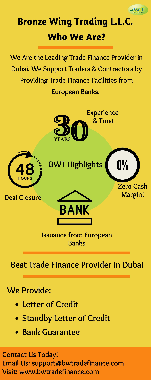 Infographics: Bronze Wing Trading L.L.C in Dubai