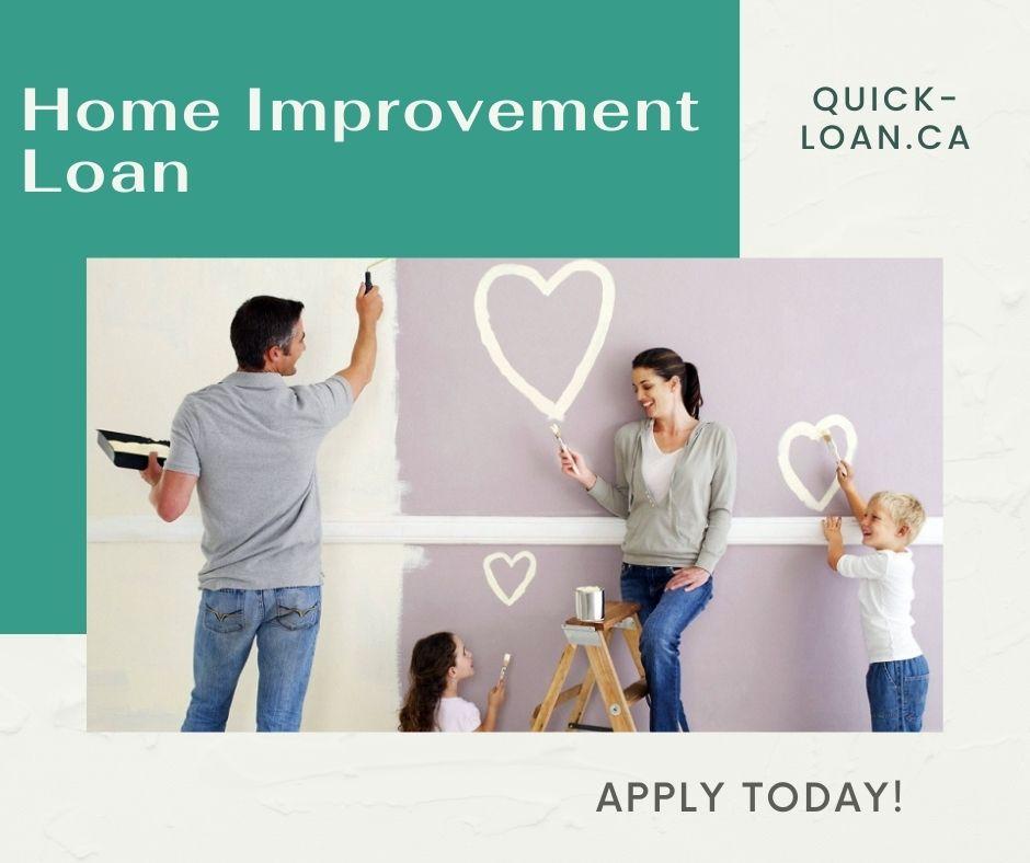 Home Renovation Loan Ontario
