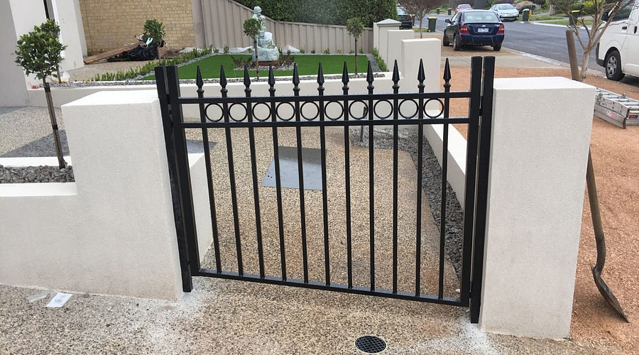 Solar Power Automatic Gates Melbourne at Green Kings Landscaping