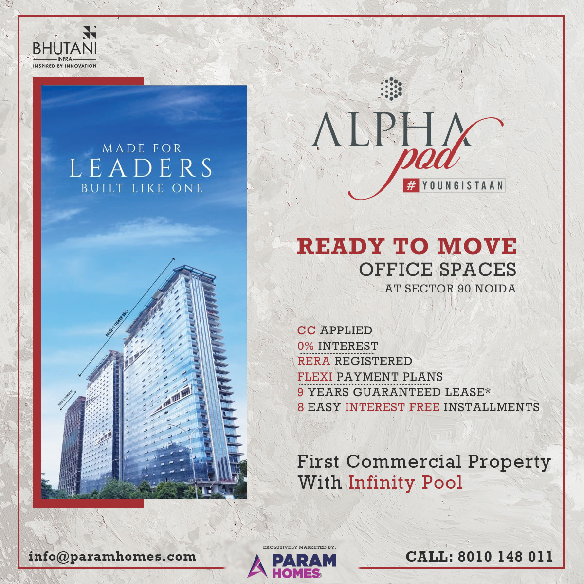 Ready to Move in Office Spaces in Sector 90 Noida