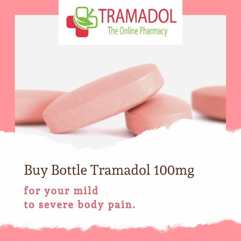 Now Tramadol 100mg is available in bottle packaging too!