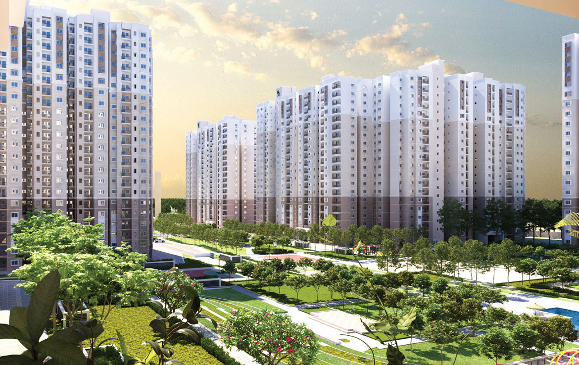 Prestige Finsbury Park 1 bedroom apartment in bangalore