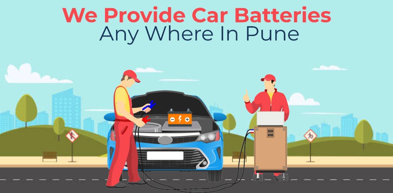 Batterymela provide Car battery jump start services in pune.