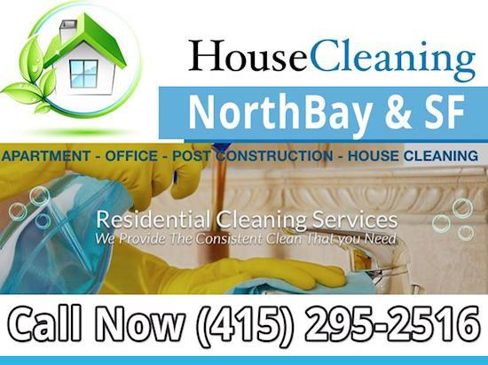 Professional House & Office Cleaning Services In Marin & San Francisco
