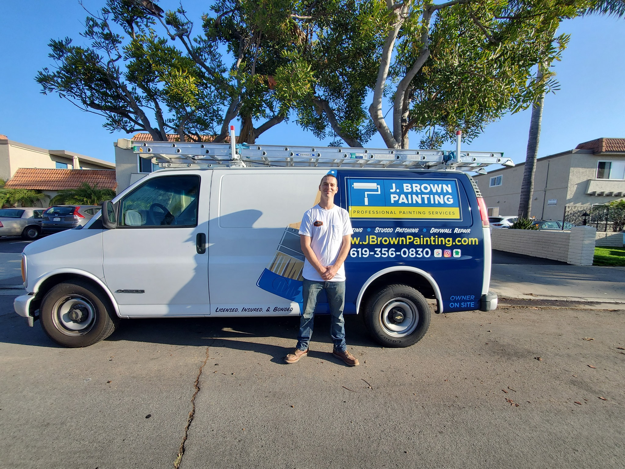 Affordable House Painters In San Diego | J Brown Painting